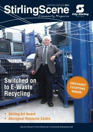 Switched on to E-Waste Recycling - City of Stirling
