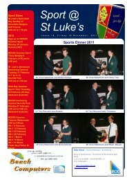 Issue 16 - St Luke's Anglican School