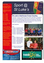 Issue 7 - St Luke's Anglican School