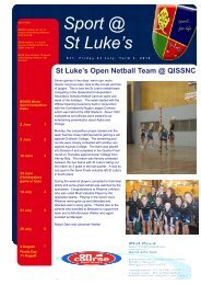 Issue 11 - St Luke's Anglican School