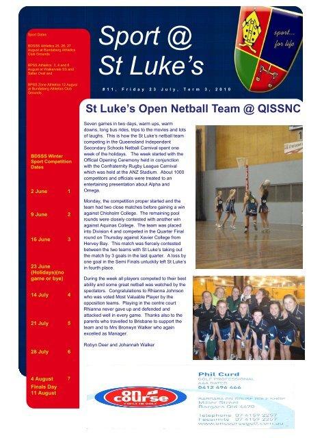 Issue 11 - St Luke's Anglican School