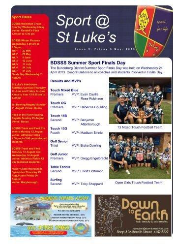 3 May 2013 - St Luke's Anglican School