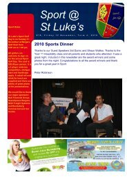 Issue 18 - St Luke's Anglican School