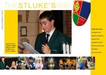 Autumn 2010 - St Luke's Anglican School