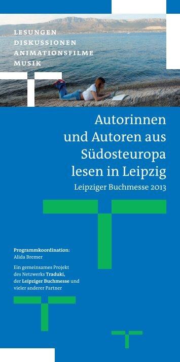 Siehe Programm Seite 10 - Suedosteuropa Gesellschaft