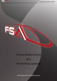 Formula Student Austria 2011 Red Bull Ring, Spielberg - ACstyria.com