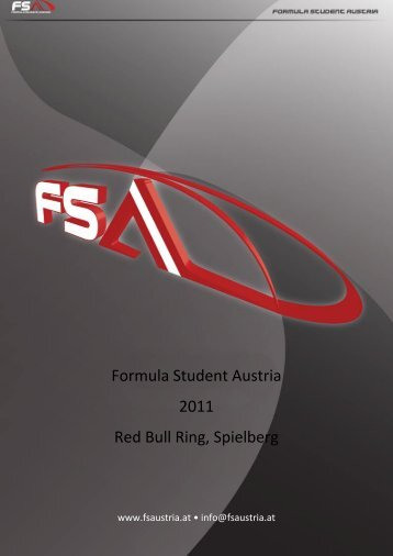 Formula Student Austria 2011 Red Bull Ring, Spielberg - ACstyria.com