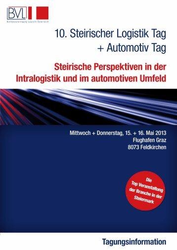 10. Steirischer Logistik Tag + Automotiv Tag - ACstyria.com