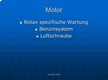 The MTO3 - AutoGyro GmbH