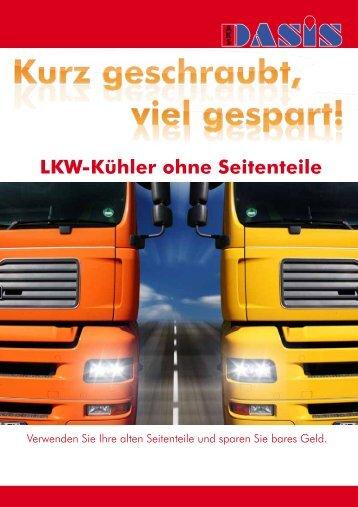 LKW-Kühler ohne Seitenteile - Dasis.de