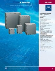 CUBEx Exd enclosures, 8264 series