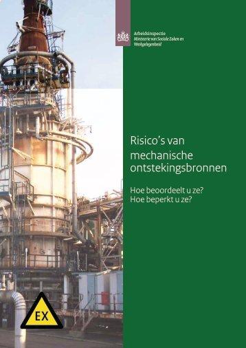 Risico's van mechanische ontstekingsbronnen (Arbeidsinspectie)