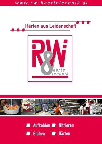 Imagebroschüre R&W Härtetechnik