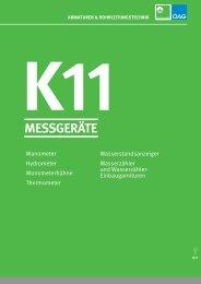 K11-Messgeräte - Kontinentale