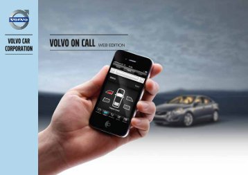 Volvo On Call - ESD - Volvo