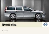 Hyvä Volvon omistaja - ESD - Volvo