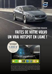 sensus connected touch - ESD - Volvo