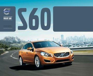 La brochure de la Volvo S60 - ESD - Volvo