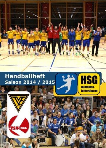HSG-LE Handballheft