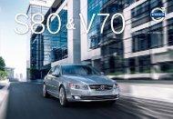 S80 & V70 GAMME 2014 - TARIF AU 15 AVRIL 2013 - ESD - Volvo