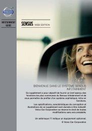 Sensus Infotainment - ESD - Volvo