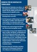 HINWEISE FÜR DIE MONTAGE DES TURBOLADERS 1 ... - Trost - Page 6