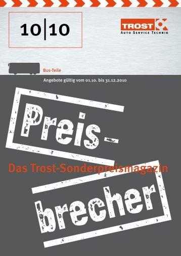 Das Trost-Sonderpreismagazin
