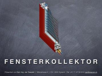 FENSTERKOLLEKTOR - The Window Panel Collector