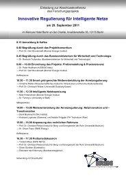 IRIN Abschlusskonferenz Einladung - Bremer Energie Institut