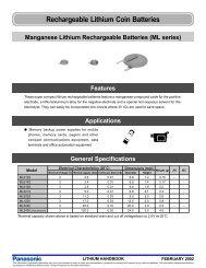 Lithium, ML Series