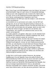 Wischmeyer - FDP Fraktion Niedersachsen