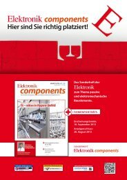 Sonderheft Elektronik components - next!-Community