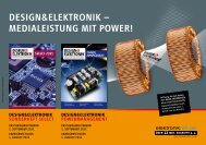 dEsign&ElEKtroniK; – mEdiAlEistung mit powEr! - next!-Community