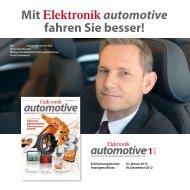 Elektronik automotive 1.2013 - next!-Community