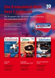 Die Embedded-Welt liest Elektronik - next!-Community