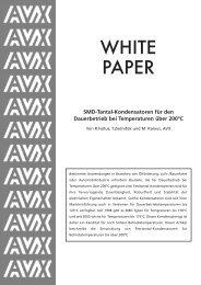 AVX White paper 1 - Energie & Technik