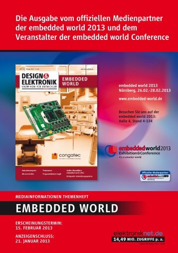 EMBEDDED WORLD - next!-Community