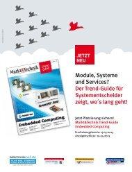 Module, Systeme und Services? Der Trend ... - next!-Community