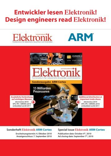 Entwickler lesen Elektronik! Design engineers ... - next!-Community