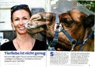 Tierliebe ist nicht genug - Susy Utzinger Stiftung für Tierschutz