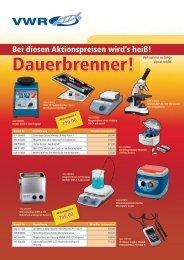 Dauerbrenner! - VWR-International GmbH