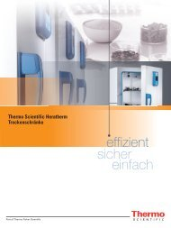 effizient einfach sicher - Fisher UK Extranet - Fisher Scientific