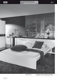 Download full typelist of Arte-M bed - InnoShop
