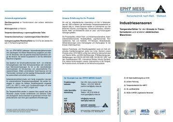 Industriesensoren - Ephy Mess