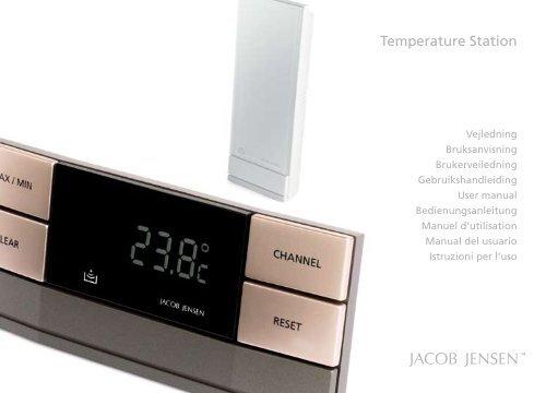 Temperature Station - Jacob Jensen Home page der offizielle Shop