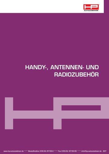 Handy-, antennen- und RadiozubeHöR