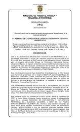 1912 26 Octubre 2007 - Ministerio de Ambiente, Vivienda y ...