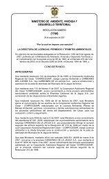 """""""Por la cual se resuelve un recurso de reposición"""" - Ministerio de ..."""