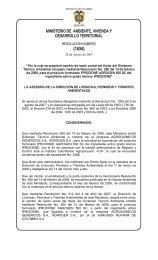(1534) - Ministerio de Ambiente, Vivienda y Desarrollo Territorial