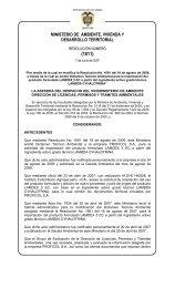 1011 - Ministerio de Ambiente, Vivienda y Desarrollo Territorial